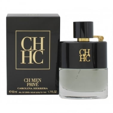 Carolina Herrera CH Men Prive - 50ml Eau De Toilette Spray.