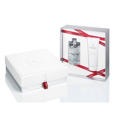Cartier Eau De Cartier - 100ml EDT Gift Set With 100ml Shower Gel.
