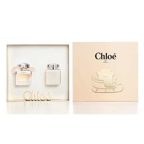 chloe eau de parfum 50ml edp gift set with 100ml body. Black Bedroom Furniture Sets. Home Design Ideas