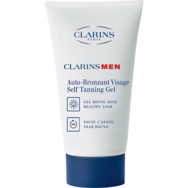 Clarins Men Self Tanning Gel 50ml For Face, Damaged Box.
