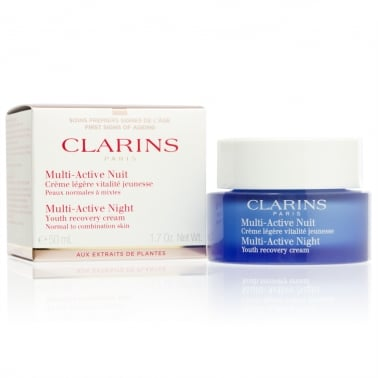 Clarins Multi Active Night Cream 50ml Normal To Combination Skin