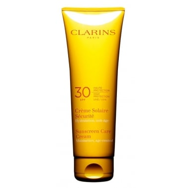 Clarins Sun Care Cream High Protection For Sun Sensitive Skin UVB 30 - 125ml