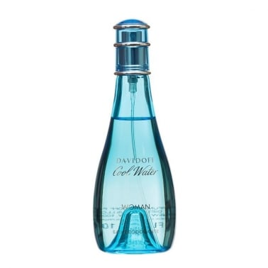 Cool Water Woman - 100ml Deodorant Natural Spray.
