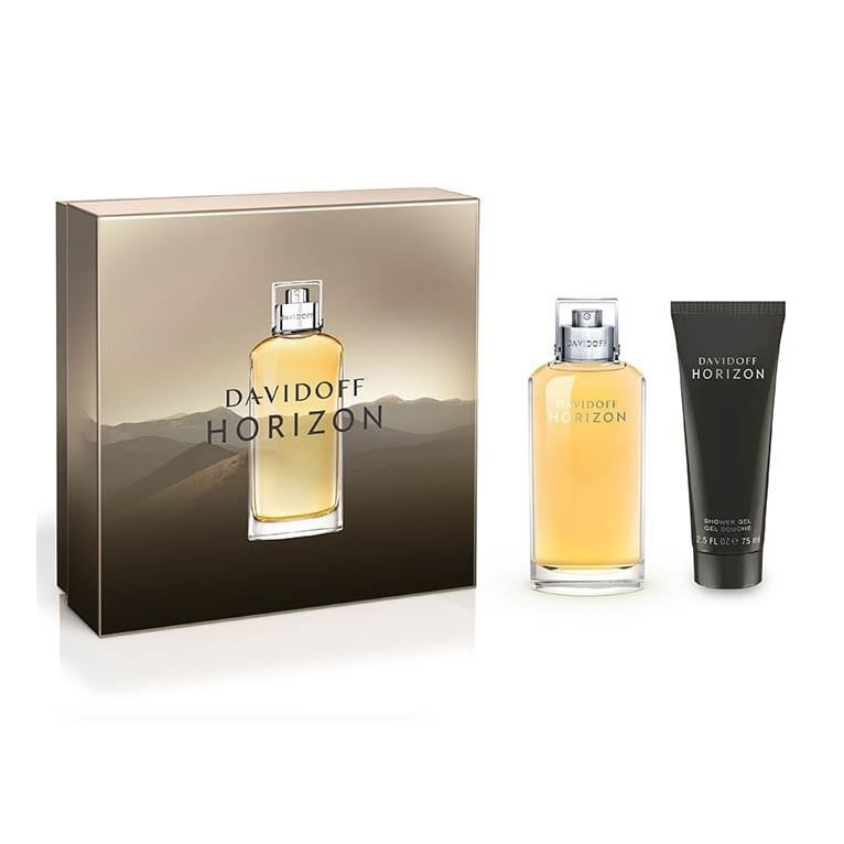Davidoff Horizon For Men - 75ml EDT Spray and 75ml Shower gel.