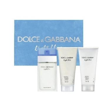Dolce and Gabbana Light Blue - 50ml Gift Set.