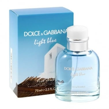 Dolce & Gabbana Light Blue Pour Homme Living Stromboli - 75ml Eau De Toilette.