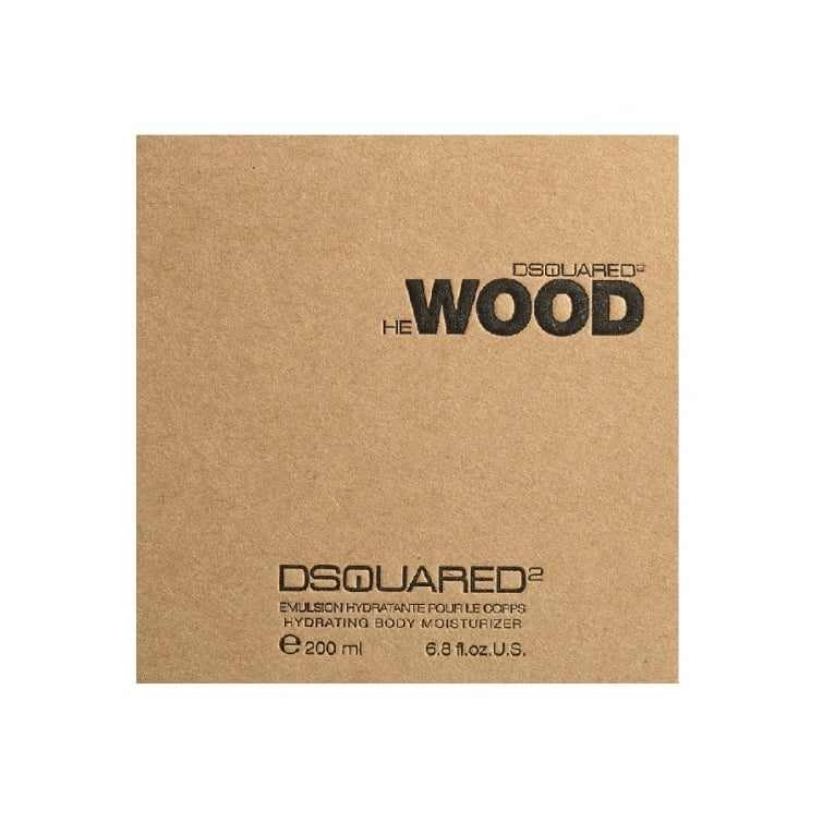 DSQUARED 2 He Wood Pour Homme - 200ml Body Wash Gel, Damaged Box.