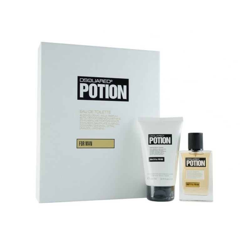 DSQUARED 2 Potion For Men - 50ml EDT Gift With 100ml Hair & Body Wash.