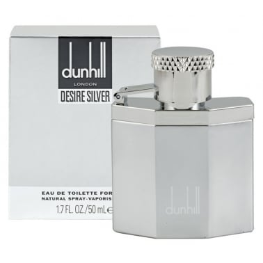 Dunhill Desire Silver - 100ml Eau De Toilette Spray.