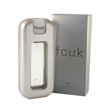 FCUK French Connection For Her - 100ml Eau De Toilette Spray