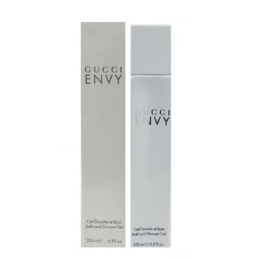 Gucci Envy For Women - 200ml Perfumed Bath and Shower Gel, Damaged Box.
