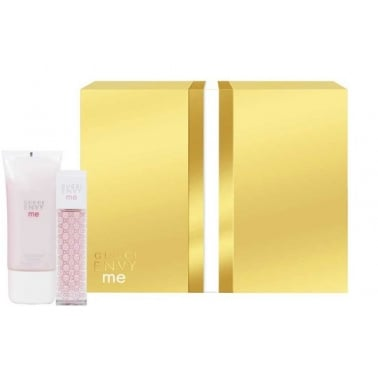 Gucci Envy Me - 30ml EDT Perfume Gift Set With Body Lotion.