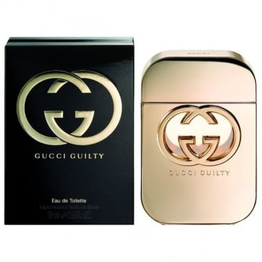 Gucci Guilty For Her - 75ml Eau De Toilette Spray