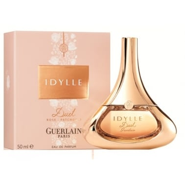 Guerlain Idylle Duet Rose Patchouli - 35ml Eau De Parfum Spray, Damaged Box.
