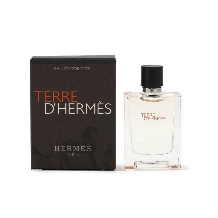 Hermes Terre D' - 12.5ml Miniature EDT Spray.