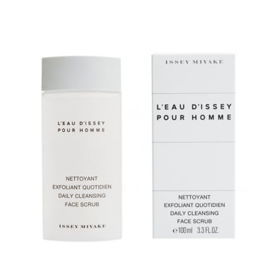 Issey Miyake L'eau D'issey Pour Homme - 100ml Daily Cleansing Face Scrub, Damaged.
