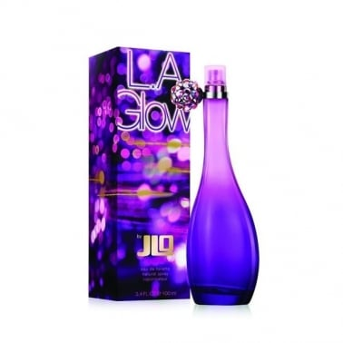 Jennifer Lopez J Lo LA Glow - 100ml Eau De Toilette Spray, Damaged Box.