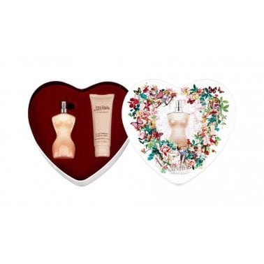 Jean Paul Gaultier Classique For Women - Gift Set With 50ml Eau De Toilette Spray and 75ml Body Lotion