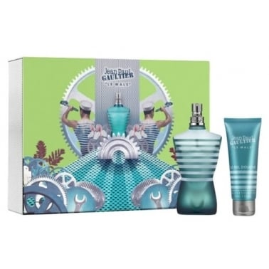 Jean Paul Gaultier Le Male - 125ml EDT Gift Set With Shower Gel.