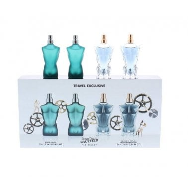 Jean Paul Gaultier Le Male - Gift Set With 2 x 7ml EDT Spray and 2 x 7ml EDP Essence Spray