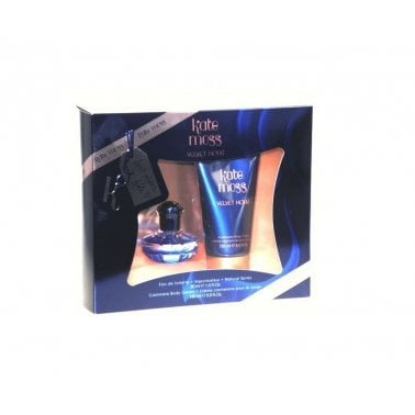 Kate Moss Velvet Hour - Gift Set With 30ml Eau De Toilette Spray and 150ml Body Lotion