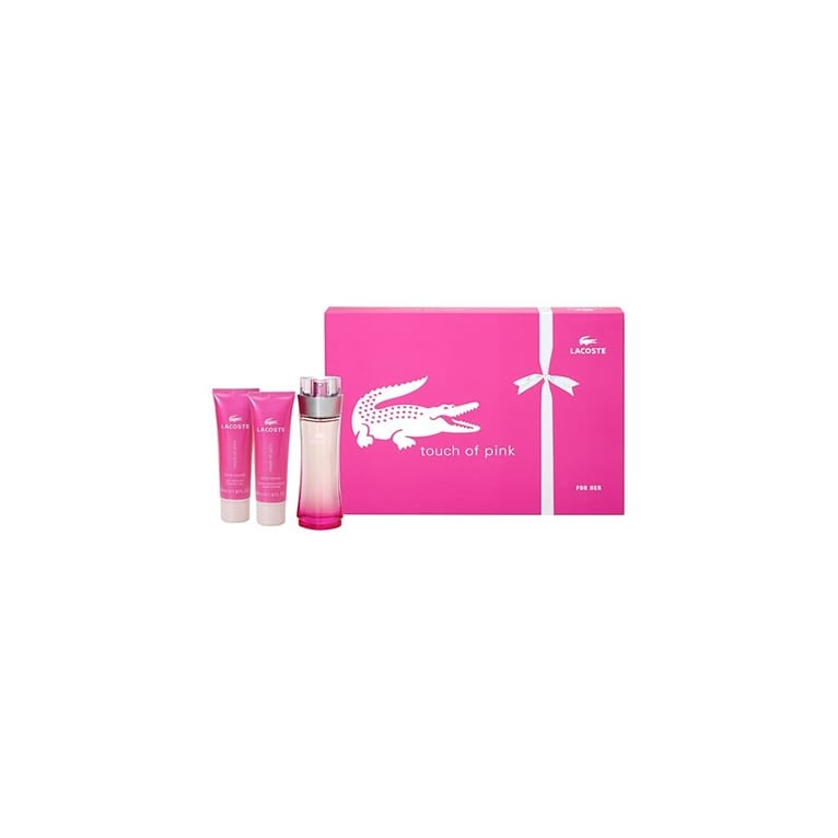 Lacoste Touch Of Pink - 50ml Perfume Gift Set With 100ml Body Lotion. 893b73de9b