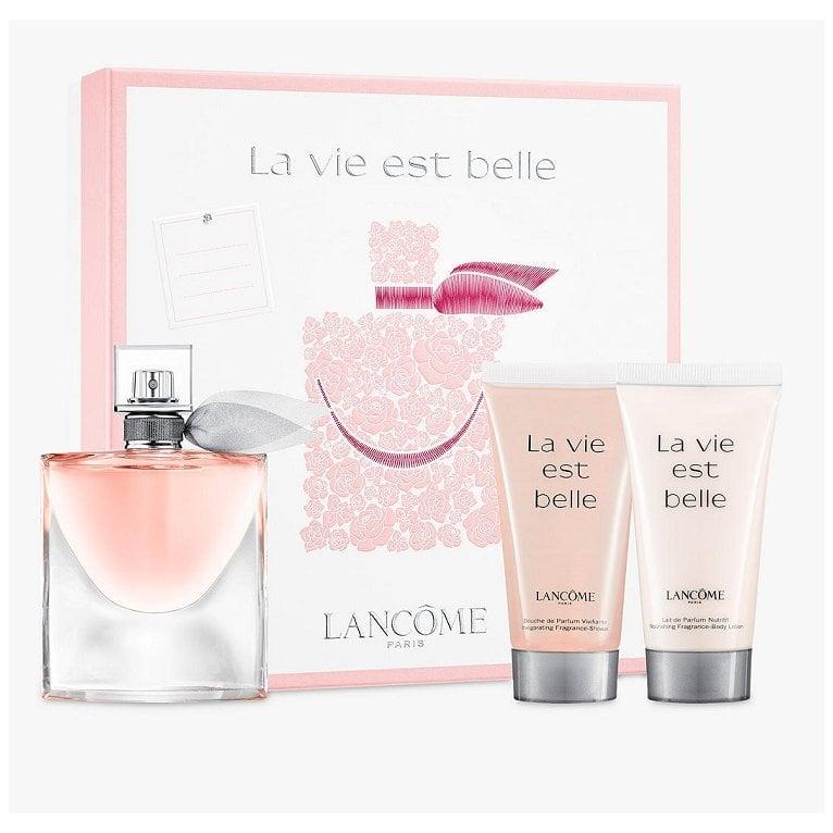 De Vie Parfum And Set Shower 50ml La With Est Gel Lotion Belle Body Gift Eau vwm0N8n