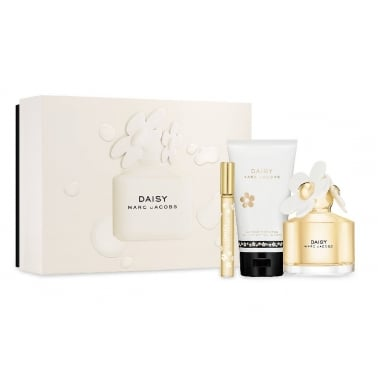 Marc Jacobs Daisy - 100ml EDT Spray With 10ml EDT Spray and 150ml Body Lotion