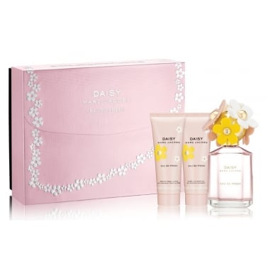 Marc Jacobs Daisy Eau So Fresh - 75ml EDT Gift Set With Shower Gel and Body Lot