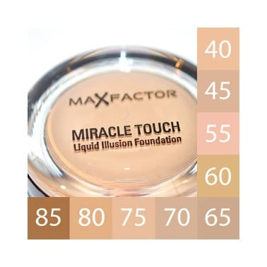 Max Factor Miracle Touch Foundation - 40 Creamy Ivory