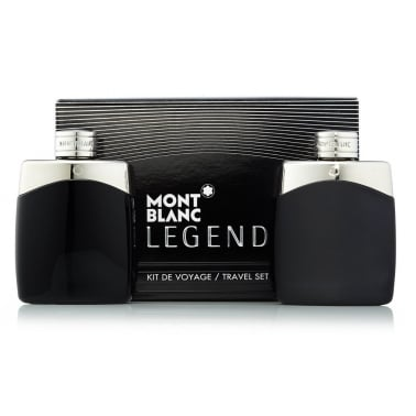 Mont Blanc Legend - 100ml EDT Gift Set With 100ml EDT and 100ml Aftershave.