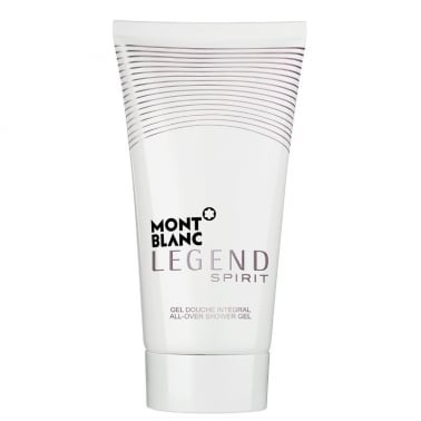 Mont Blanc Legend Spirit - 150ml All Over Shower Gel.