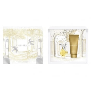 Nina Ricci L'air Du Temps - 30ml EDT Gift Set With 100ml Body Lotion, DAMAGED