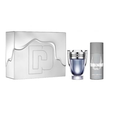 Paco Rabanne Invictus - 100ml EDT Gift Set With 150ml Deodorant Spray.