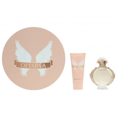 Paco Rabanne Olympea - 50ml Perfume Gift Set With 100ml Sensual Body Lotion.