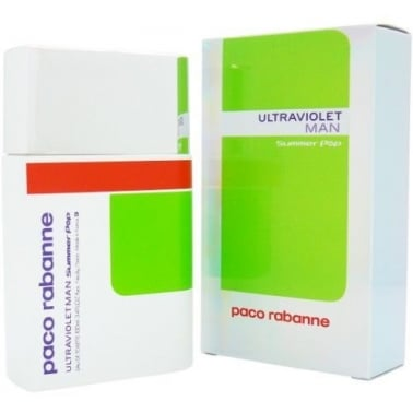 Paco Rabanne Ultraviolet Man Summer Pop 2007 - 100ml Eau De Toilette Spray.