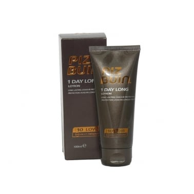 Piz Buin 1 Day Long Lotion SPF10 Long Lasting UVA Protection 100ml