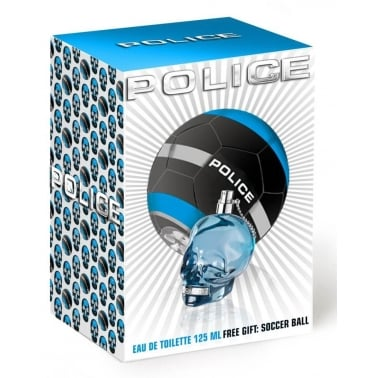Police To Be (or not to be) - 125ml Gift Set With FREE Football.