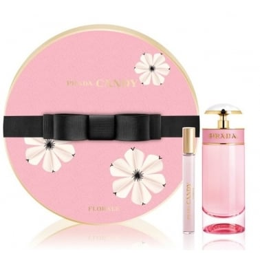 Prada Candy Florale - 50ml EDT Gift Set With 10ml Purse Spray.