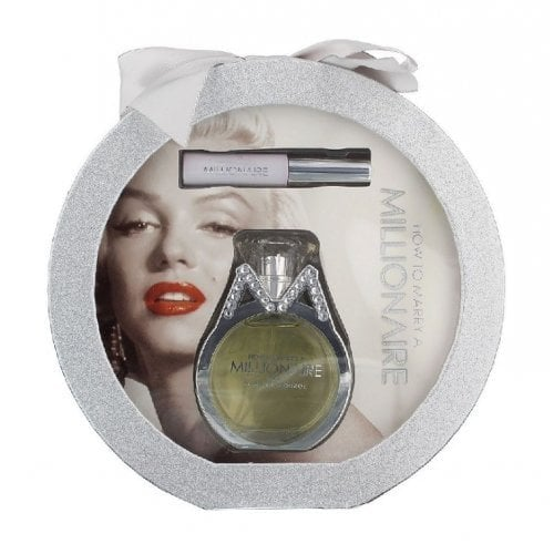 "Femmina   ""Marilyan Monroe How To Marry A Millionaire - Gift Set With 50ml Eau De Parfum Spray and 15ml Lip Gloss"""