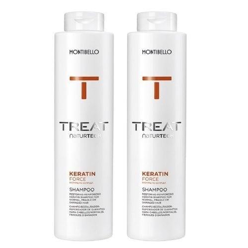 "Femmina | ""Montibello Treat Keratin Shampoo Twin Pack - 1000ml"""