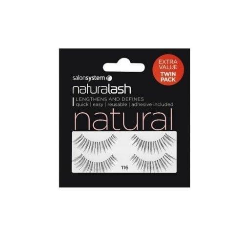 "Femmina | ""Salon System Naturalash 116 Black Natural (TWIN PACK)"""
