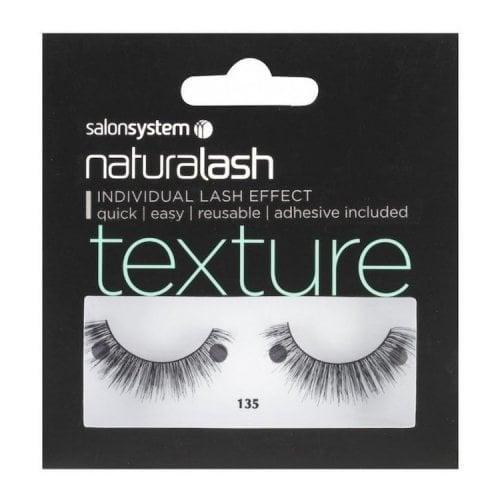 "Femmina | ""Salon System Naturalash Re-Usable Eyelashes - Black - 135"""