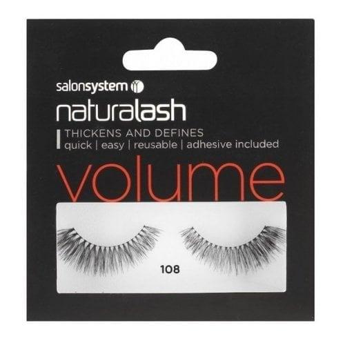 "Femmina | ""Salon System Naturalash Volume Strip Eyelashes - Black - 108"""
