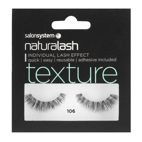 "Femmina | ""Salon System Naturalash Volume Strip Eyelashes - Black - 106"""