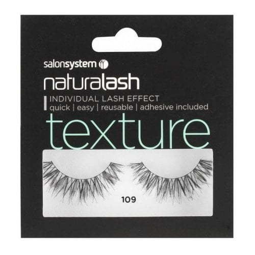 "Femmina | ""Salon System Naturalash Volume Strip Eyelashes - Black - 109"""