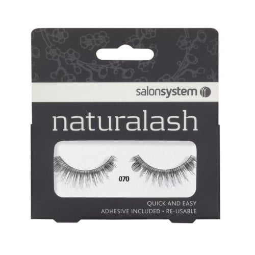 "Femmina | ""Salon System Naturalash Quick and Easy Re-usable Black 070"""