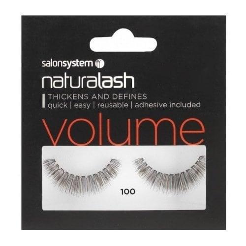 "Femmina | ""Salon System Naturalash Re-Usable Eyelashes - Black - 100"""