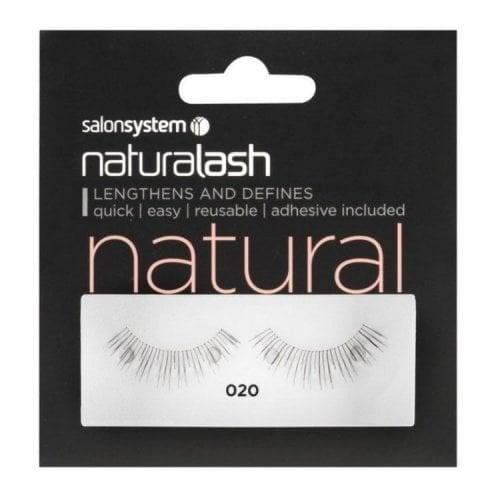 "Femmina | ""Salon System Naturalash Quick and Easy Re-Usable Black 020"""