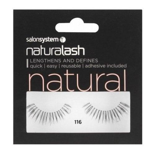 "Femmina   ""Salon System Naturalash Strip Lashes - Black - 116"""